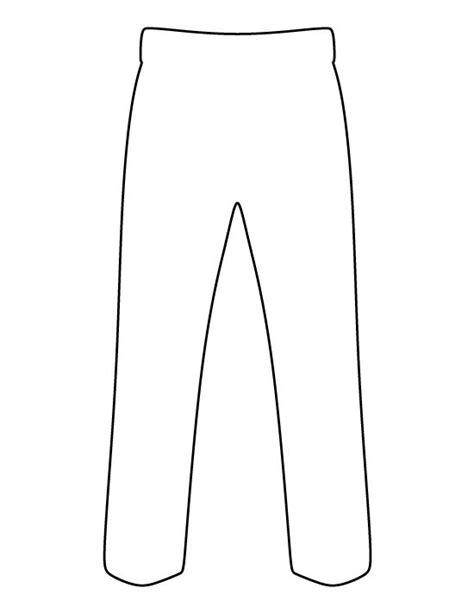 pants outline clip art 20