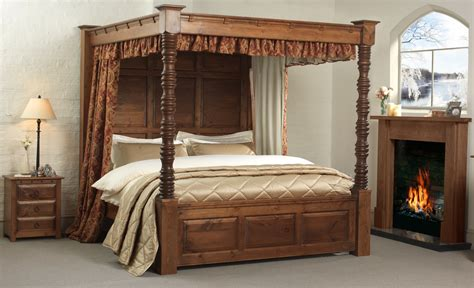bed with posts four post canopy bed frame bed frames ideas