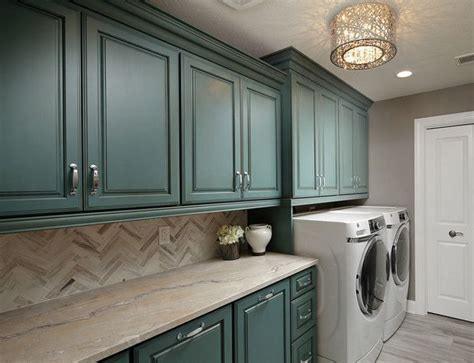 blue cabinets giggles and laundry best 25 blue laundry rooms ideas on pinterest aqua