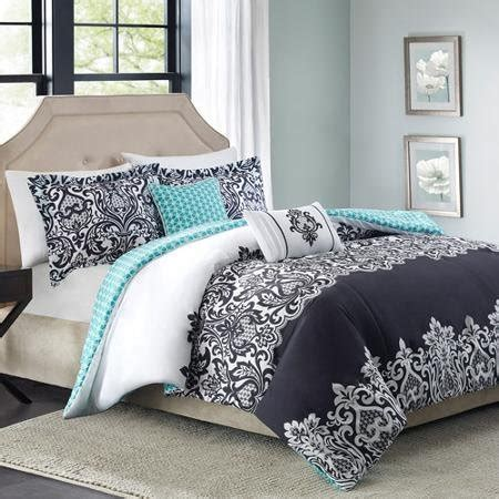 teal black and white comforter teal and black bedding