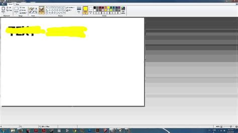 in the paint how to find the highlighter in paint digital ms