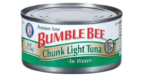 bumble bee chunk light tuna bumble bee recalls canned chunk light tuna wjar