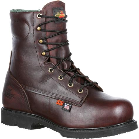 steel toe boots with metatarsal guard thorogood steel toe metatarsal guard work boot