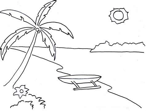 Upin Ipin Mengenal Olahraga 10 mewarnai gambar pemandangan gunung dan sawah