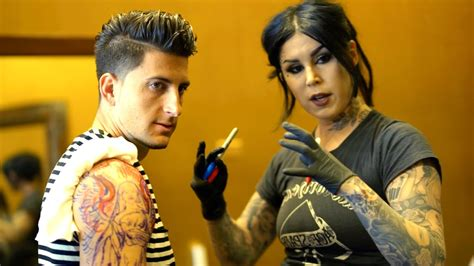 kat von d tattoos removed getting a from d doovi