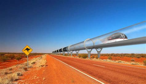 Hyperloop proposes rapid ground transport system to ...