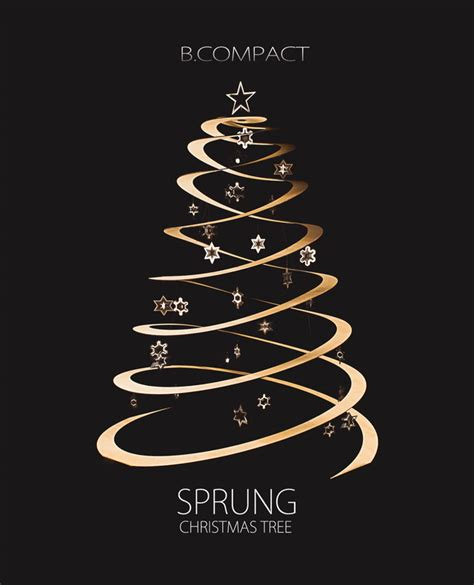 Ultra Modern Home Decor the sprung christmas tree by b compact handkrafted