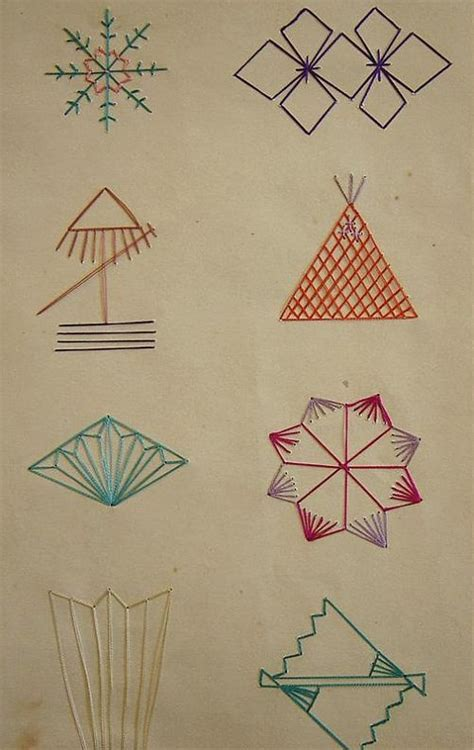 geometric pattern in french 17 best images about embroidery and stitching patterns on