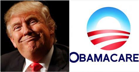 donald trump obamacare donald trump just solitarily dismantled obamacare viralinusa