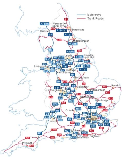 map uk motorway services image gallery highways agency areas