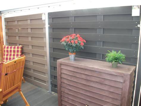 sichtschutz garten ideen günstig tolle jumbo wpc sichtschutz konzept terrasse design ideen