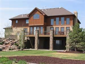 3 Bedroom House Plans One Story Get In Tune With Nature In A Mountain Style Home