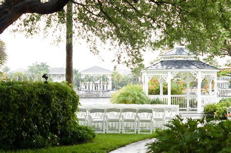 Garden Wedding Reception by Davis Island Garden Club Wedding Ta Bridal Show