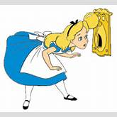 Alice in Wonderland Keyhole Clipart | ClipArtHut - Free Clipart