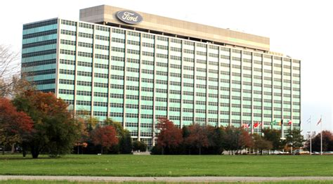 ford headquarters file ford world headquarters 1 american road dearborn