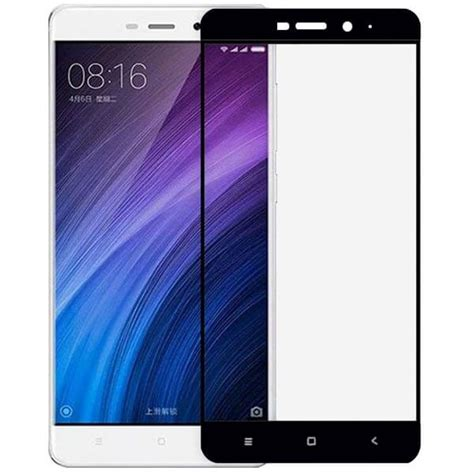 Oem Tempered Glass 4d Cover Redmi 4 Prime Gold tempered glass cover για xiaomi redmi 4 prime black