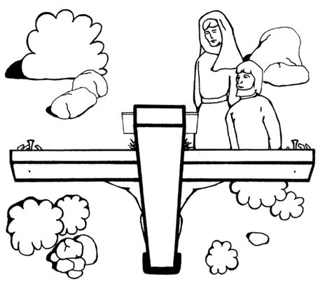 No Greater Love Coloring Page Sunday School Stuff Sermons4kids Coloring Pages