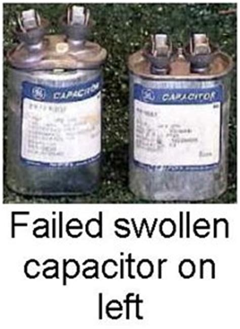 ac capacitor symptoms my a c just hums and buzzes but doesn t turn on george brazil