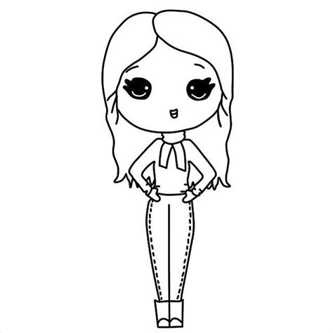 chibi template chibi templates s photo on instagram chibi colouring