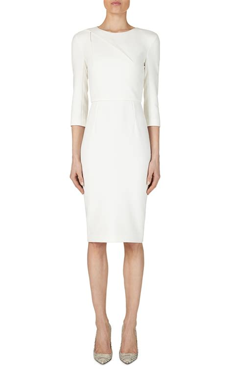 Roland Mourets New Gap Collection Revealed by Roland Mouret Hisley Dress In White Lyst