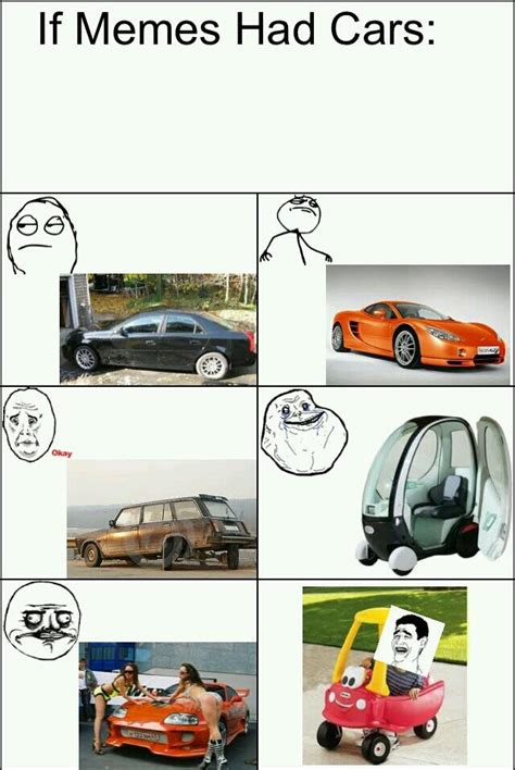 Meme Car - if meme had cars meme by mohammedsam1 memedroid