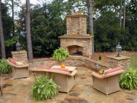 popular outdoor fireplace stone veneer bistrodre porch and landscape ideas