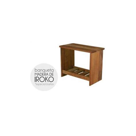 banqueta madera banqueta madera de iroko