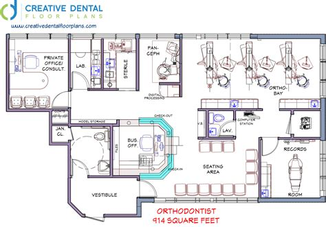dental office floor plans free orthodontic office design floor plan meze blog