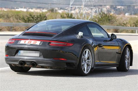 porsche cars 2018 2018 porsche 911 spotted testing at n 252 rburgring track