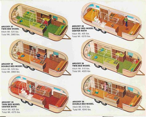vintage airstream floor plans airstream trailer floorplans land yacht floorplan