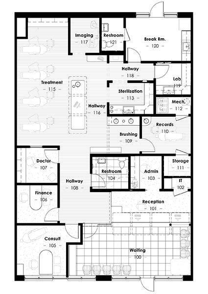 orthodontic office design floor plan 122 best images about floor plan on pinterest house