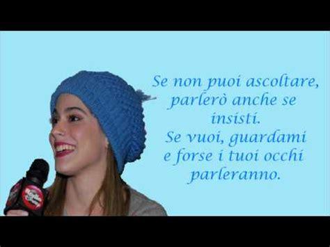 veo veo testo italiano violetta e nuestro camino traduzione hd canzone