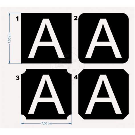 Klebebuchstaben Negativ by Gro 223 E Klebebuchstaben Ausgestanzt Quadratisch Mit