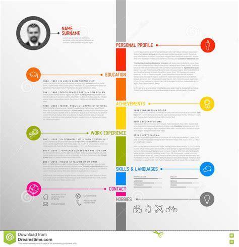 resume timeline resume ideas