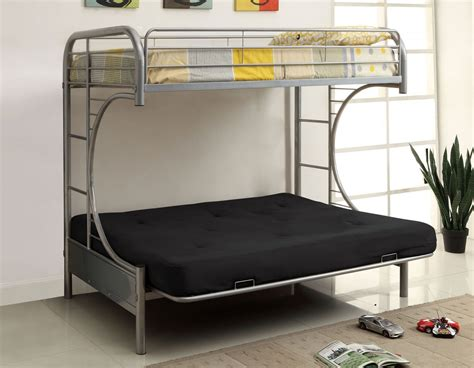 Metal Bunk Bed Futon by Metal Futon Bunk Bed Roof Fence Futons