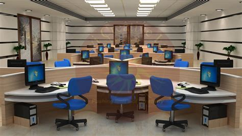 design an office amazing of top an office room with nobody d render stock 5518
