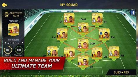 ultimate team layout guide for fifa 15 ultimate team mobile ios android and