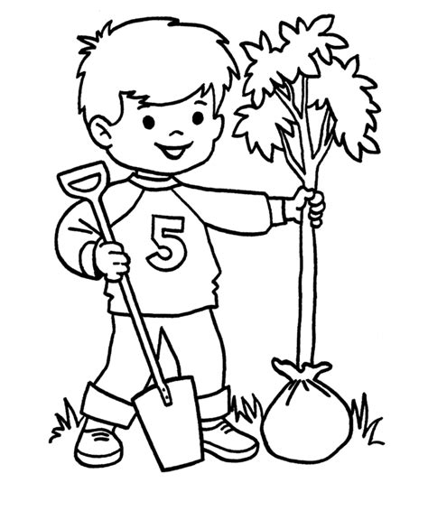 coloring pictures of flowers and trees bare tree coloring page coloring home