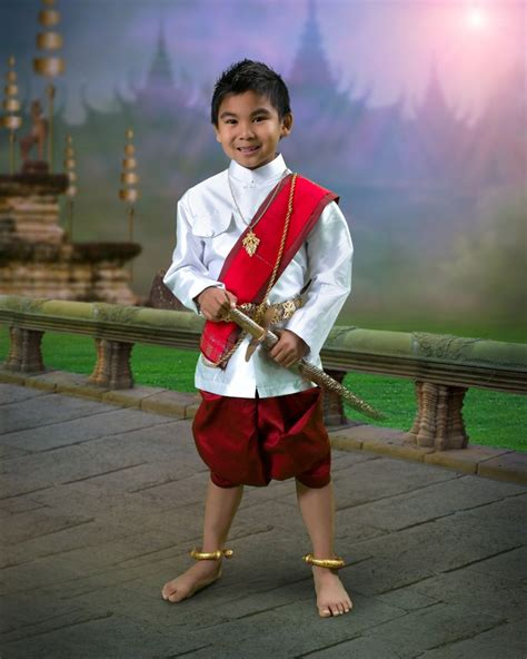 traditional costumes for boys cambodian traditional