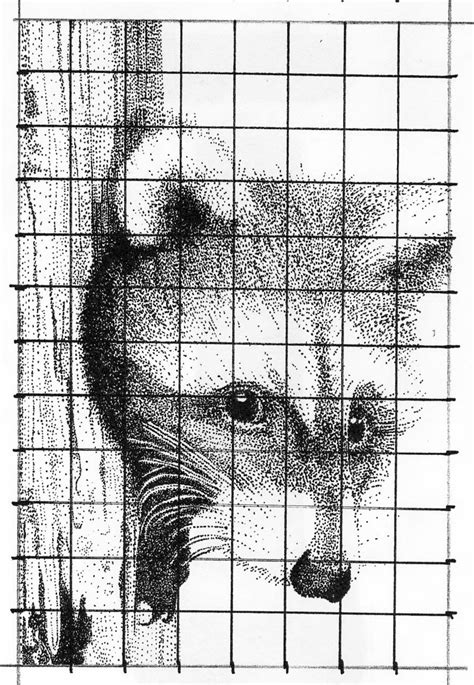 grid drawings templates visual arts 1