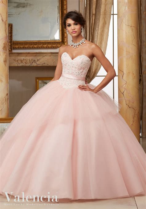 delaware ivory tulle ball gown quinceanera dress style 60003 morilee