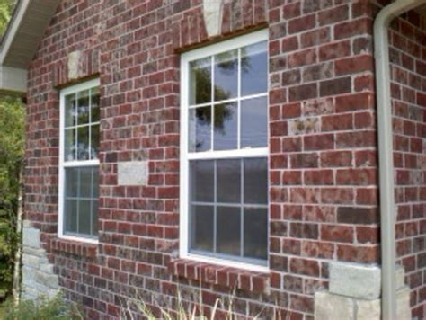 how to install windows in a brick house how to install windows in a brick house brick molding or not