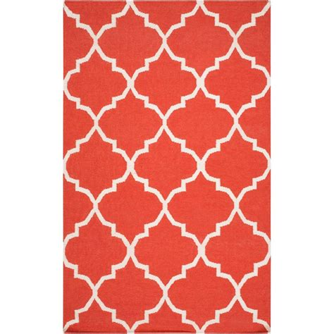coral accent rug coral area rug colonial mills print party crushed coral