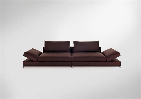 sofa moving two seater sofa in fabric moving arketipo luxury