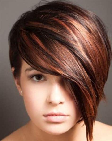 aussie 2015 hair styles and colours nieuw kort kapsel met koper accenten kapsels voor dames