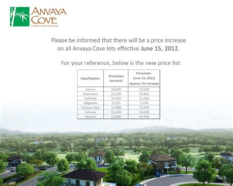 Anvaya Cove Room Rates 2014 anvaya cove bataan buyer s guide to ayala land page 8
