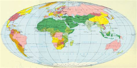 countries map map