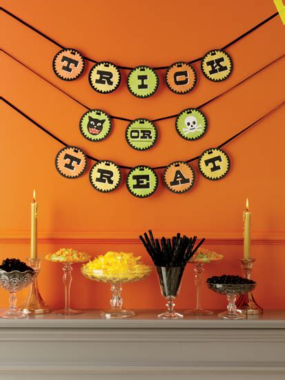Home Decoration Ideas halloween garland naver