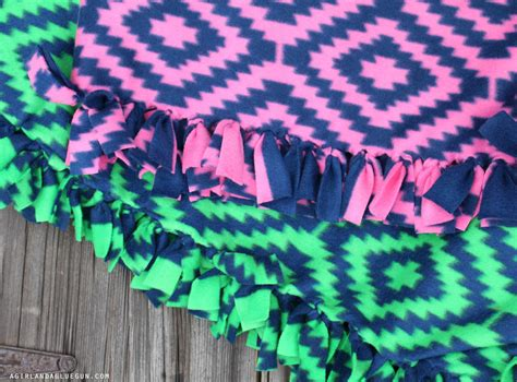 No Sew Fleece Tie Blanket by Everything You Wanted To About Fleece