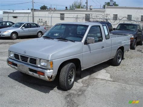 gray nissan truck 1993 platinum metallic nissan hardbody truck regular cab